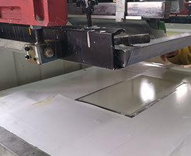 Silkscreen printing on Plastic