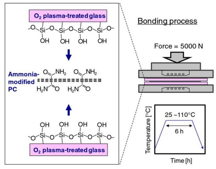 Chemical bonding plastic