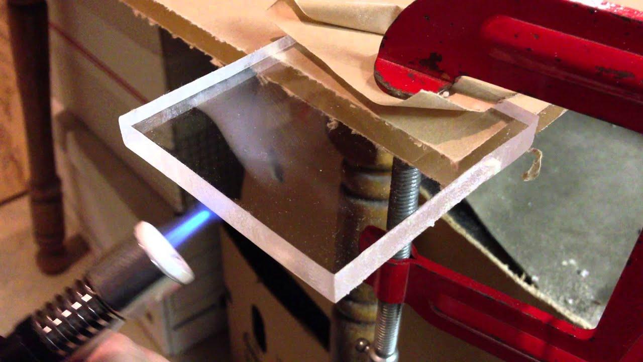 Flame polishing