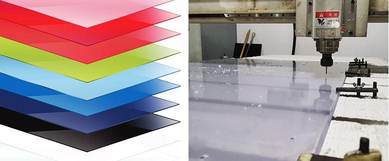 Plastci sheet cut to size