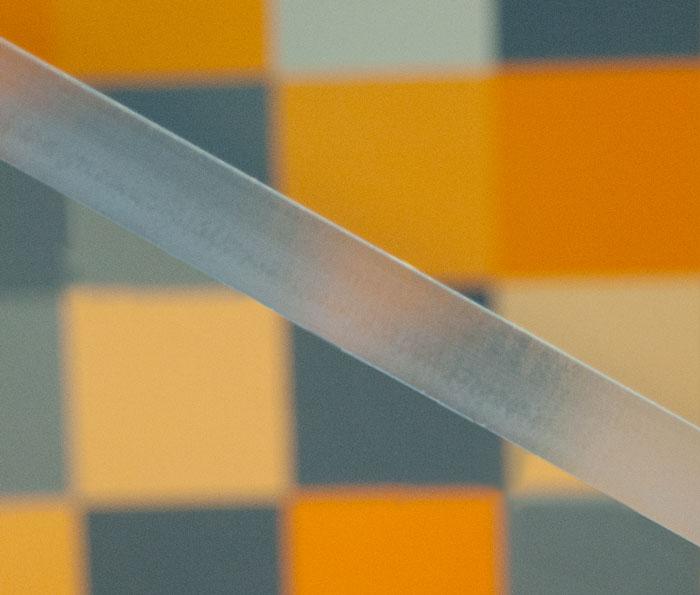 Polished edges of acrylic