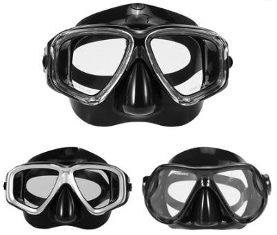 anti-fog free diving mask