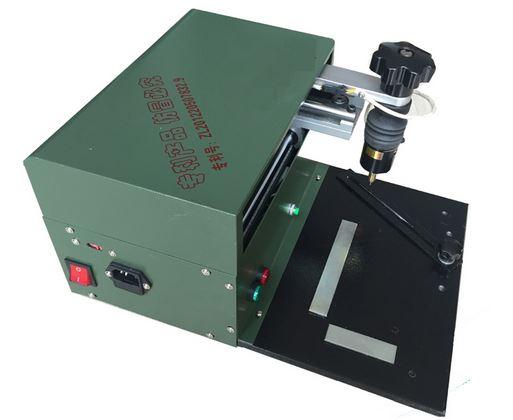 Name plate marking machine