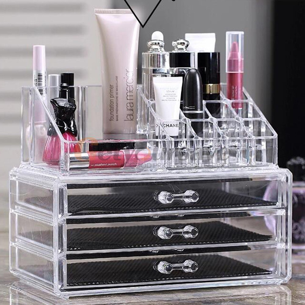 acrylic box to storing jewelry and makeups
