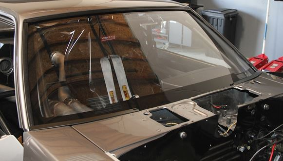 Cut to size polycarbonate windshield