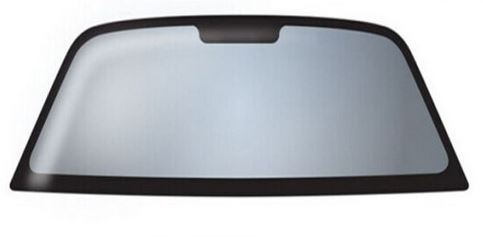 Tinted polycarbonate windshield
