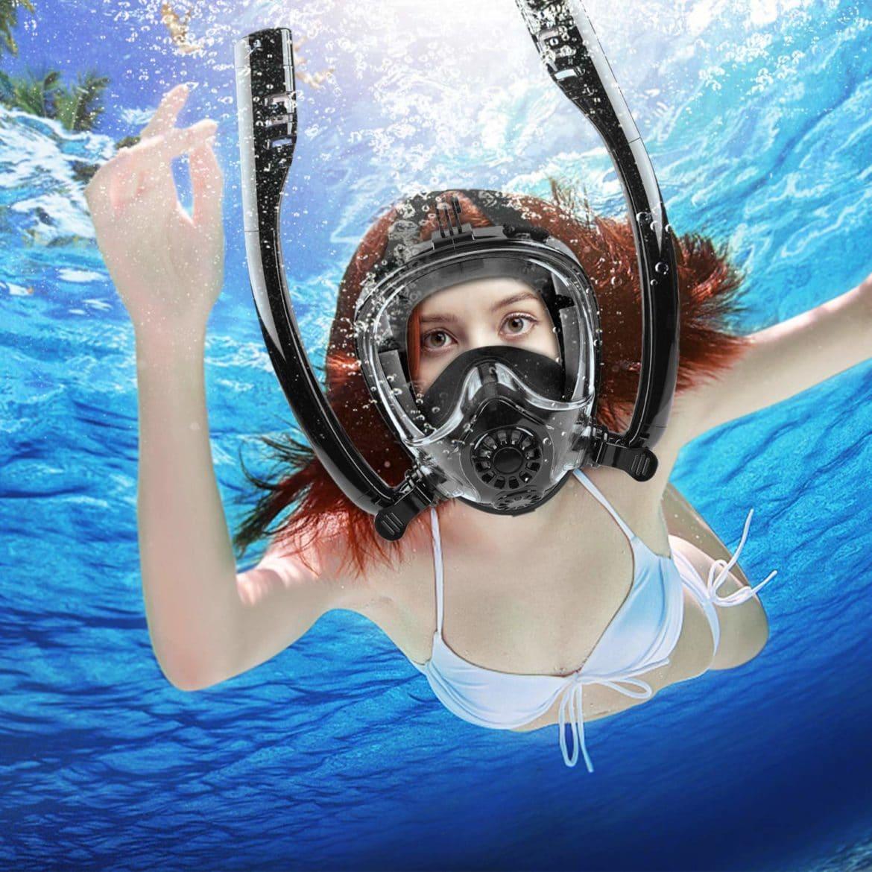 100% Anti-fog Snorkel Mask, - The Premier Manufacturer