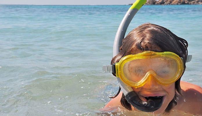 Fogging snorkeling mask