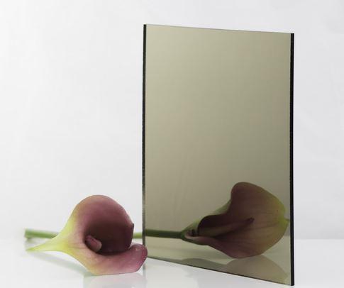 Bronze acrylic mirror