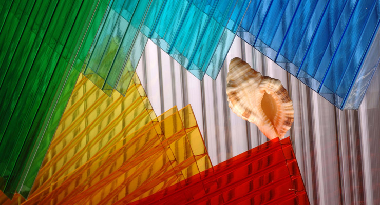 Multiple Colored Polycarbonate Sheets