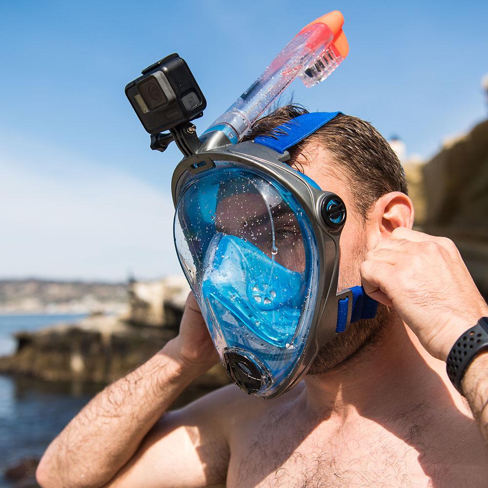 Adult snorkel mask