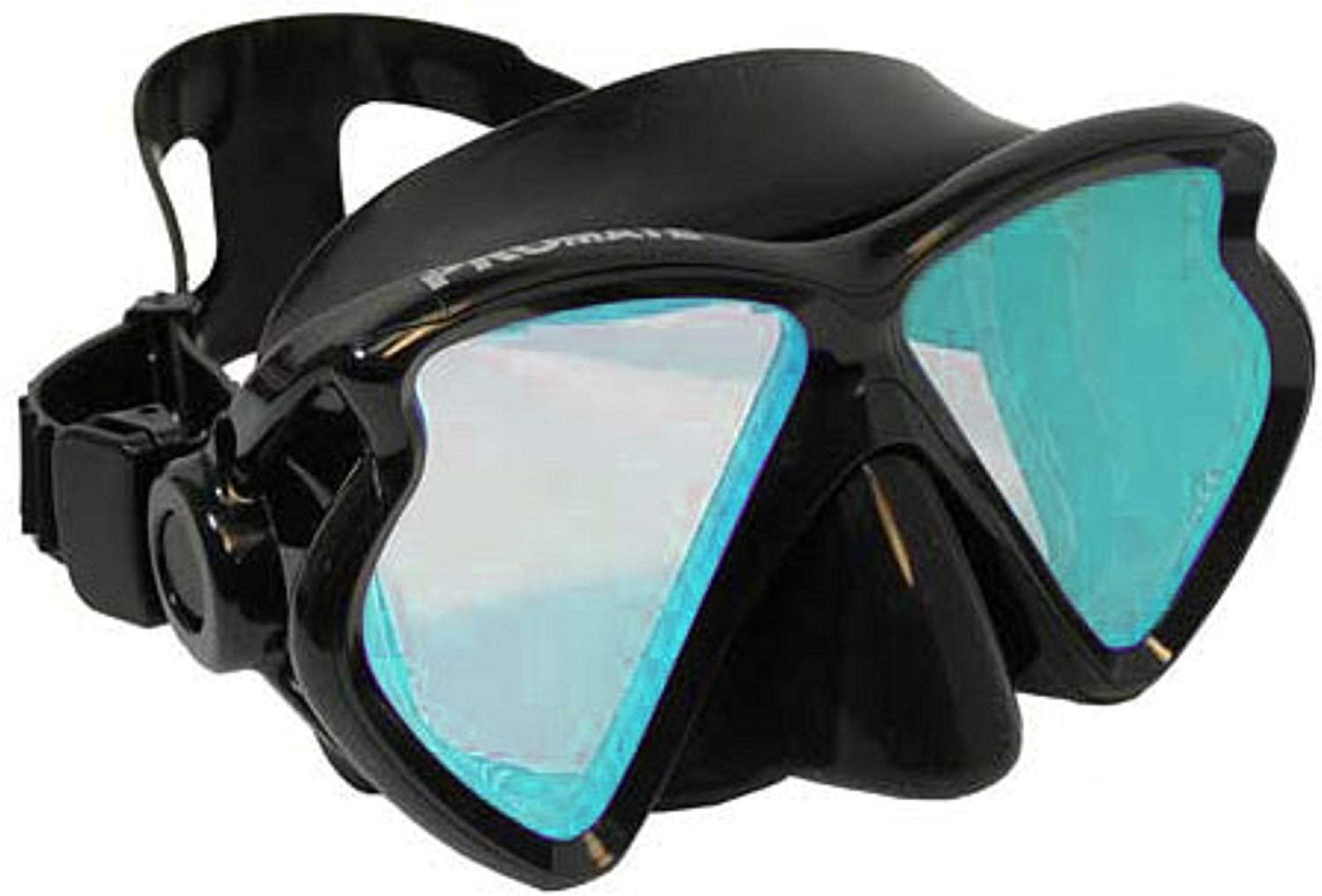 Color correction diving mask