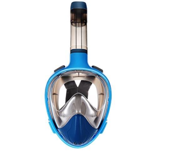 100 anti fog snorkel mask