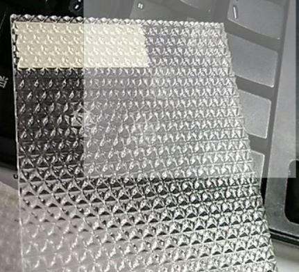 PMMA Prismatic Acrylic Sheet Light Diffuser