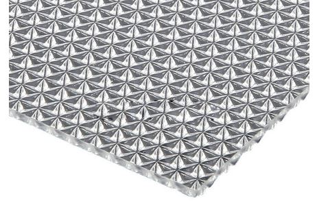 PMMA Diffuser Filler Patterned Crystal Film Prismatic Acrylic Sheet