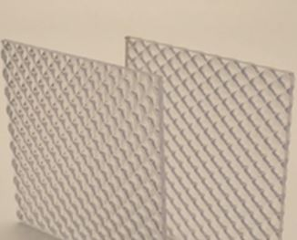 Cut-To-Size Extruded Prismatic Acrylic Sheet