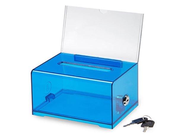 Assembled Acrylic Suggestion Box