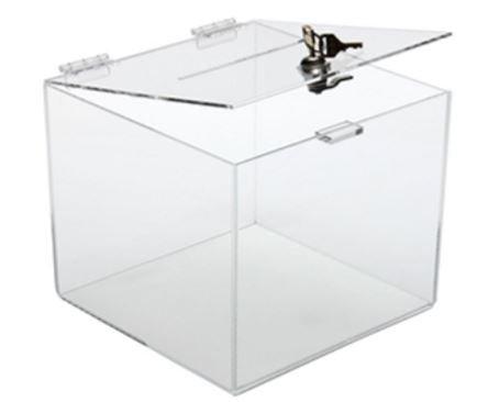 Clear Acrylic Suggestion Box