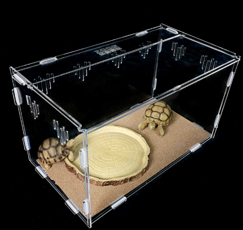 Clear Acrylic Box for pet reptiles