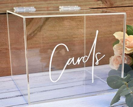 Custom-Printed Acrylic Wishing Wells