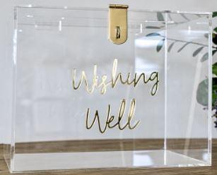 Clear Acrylic Wishing Wells