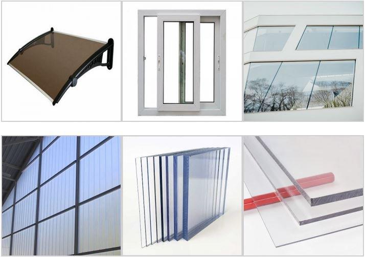 Polycarbonate window panel