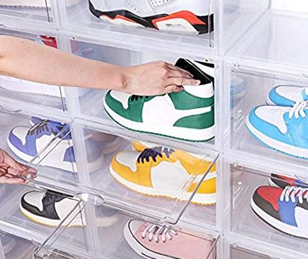 sneaker acrylic shoe box