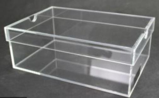 customized clear acrylic shoe box